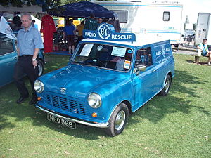 RAC Limited - 1961 RAC Austin Mini Van