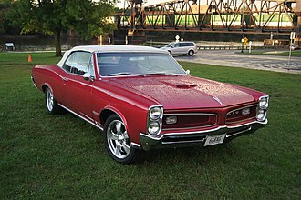 Pontiac GTO - 1966 Pontiac GTO convertible