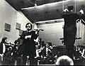 1973 - Presidential Symphony Orchestra, Tunç Ünver playing.jpg
