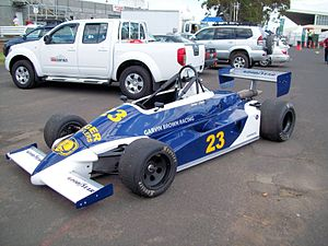 Tiga Race Cars - Image: 1982 Tiga FA82