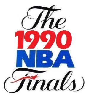 1990 NBA Finals - Image: 1990NBAFinals