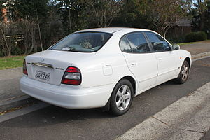 Daewoo Leganza - 1999 Daewoo Leganza (V100) sedan (Australia).