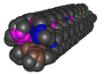 1K6F Crystal Structure Of The Collagen Triple Helix Model Pro- Pro-Gly103 01.png