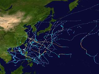 2000 Pacific typhoon season typhoon season in the Pacific Ocean