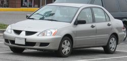 2004-2005 Mitsubishi Lancer sedan (AS)
