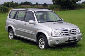Suzuki XL-7 - 2004 Suzuki Grand Vitara XL-7 (UK)