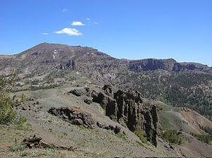 Sonora Peak - Sonora Peak from Sonora Pass