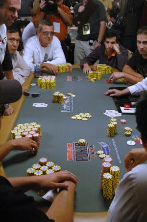 2006 WSOP Main Event Table