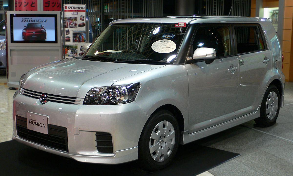 Toyota Corolla Rumion Wikipedia 2007 Fuel Filter Location