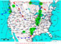 2008-03-03 Surface Weather Map NOAA.png