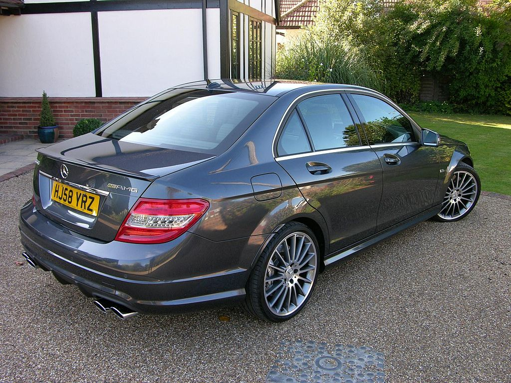 file 2008 mercedes benz c63 amg flickr the car spy 1 jpg wikimedia commons. Black Bedroom Furniture Sets. Home Design Ideas