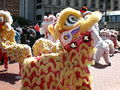 2008 Olympic Torch Relay in SF - Lion dance 38.JPG