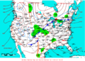 2009-04-18 Surface Weather Map NOAA.png