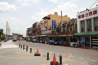 Dayuan District District in Taoyuan City, Taiwan