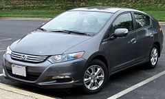 Honda Insight II przed liftingiem