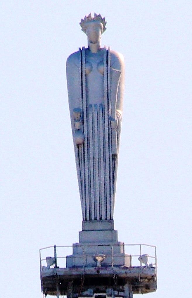 20120929 Chicago Board of Trade Building top recrop