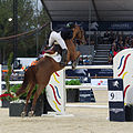 2013 Longines Global Champions - Lausanne - 14-09-2013 - Marlon Modolo Zanotelli et Clouwni 1.jpg