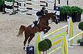 2013 Longines Global Champions - Lausanne - 14-09-2013 - Reed Kessler et Soraya de l'Obstination 2.jpg