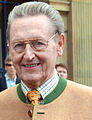 2014-05-16 Landesausstellung Als die Royals aus Hannover kamen, Opernhaus, (027) der ehemalige Landesminister Prof. Johann-Tönjes Cassens.jpg