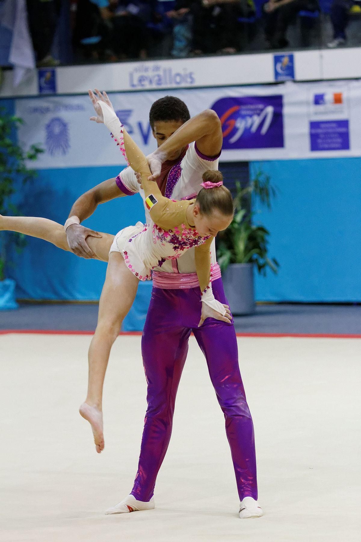 Yana Vastavel - Wikidata Acrobatic Gymnastics Mixed Pair