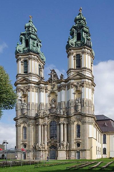 File:2014 Kościół Wniebowzięcia NMP w Krzeszowie, 01.JPG