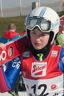 Kinga Rajda Polish ski jumper