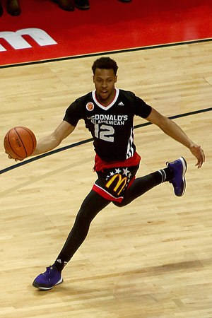 2015–16 Kentucky Wildcats men's basketball team - Recruit Isaiah Briscoe at the 2015 McDonald's All-American Boys Game