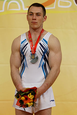 Ihor Radivilov - Igor Radivilov with his silver medal from the 2015 European Championships