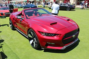 Ford Mustang (sixth generation) - Mustang Rocket convertible concept