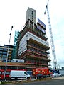 2015 London-Woolwich, Cannon Square - Crossrail development 06.jpg