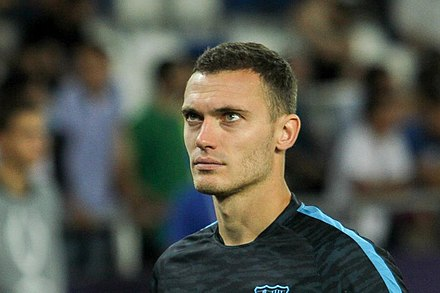 Vermaelen with Barcelona in 2015 2015 UEFA Super Cup 39.jpg