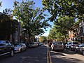 2016-10-09 15 50 20 View west along Virginia State Route 7 (King Street) between U.S. Route 1 southbound (Henry Street) and Fayette Street in Alexandria, Virginia.jpg