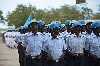 Somali Police Force - Somalia Police Force - Darawiishta Rapid Response Brigade - Passing out parade - Mogadishu, Somalia.