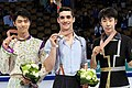 2016 World Figure Skating Championships Men Podium.jpg
