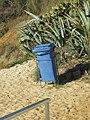 2017-12-05 Litter bin, Praia da Oura, Albufeira.JPG