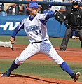 20170311 Joseph Andrew Wieland pitcher of the Yokohama DeNA BayStars, at Yokohama Stadium.jpg