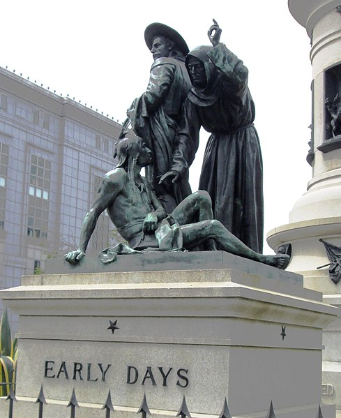 File:2017 Pioneer Monument - east Early Days.jpg
