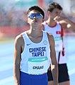 2018-10-16 Stage 2 (Boys' 400 metre hurdles) at 2018 Summer Youth Olympics by Sandro Halank–014.jpg