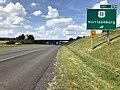2019-06-06 16 17 33 View north along Interstate 81 at Exit 251 (U.S. Route 11, Harrisonburg) in Melrose, Rockingham County, Virginia.jpg