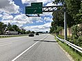 2019-06-21 11 29 28 View south along Interstate 83 (Baltimore-Harrisburg Expressway) at Exit 16 (Timonium Road) on the edge of Mays Chapel and Timonium in Baltimore County, Maryland.jpg