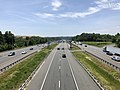 2019-06-24 13 15 01 View south along Interstate 95 from the overpass for Virginia State Route 234 (Dumfries Road) just north of Dumfries in Prince William County, Virginia.jpg