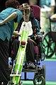 221000 - Boccia Angie McReynolds action 2 - 3b - Sydney 2000 match photo.jpg