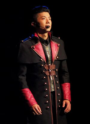 Jang Wooyoung - Jang Woo-young during 2PM Go Crazy World Tour 2014, Rosemont Theatre, Chicago (Rosemont) Illinois, U.S.A