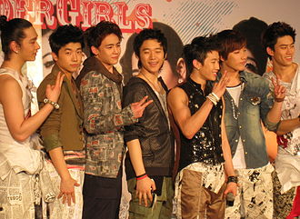 2PM - 2PM at press conference in Bangkok, in February 2009