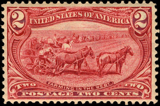 File:2c Farming in the West 1898 U.S. stamp.tiff