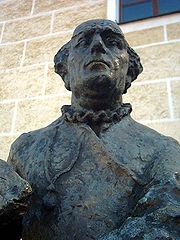 Monument to Paracelsus in Beratzhausen, Bavaria