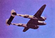 31st Photographic Reconnaissance Squadron Lockheed P-38J-20-LO Lightning (F-5E) 44-23450 Sexy Sail