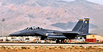 336th Fighter Squadron - 336th Fighter Squadron F-15E on alert in Afghanistan