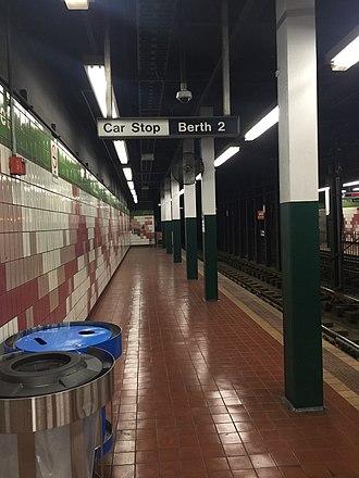 33rd Street station (SEPTA) - Image: 33rd Street SEPTA trolley station 2018