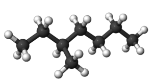 3-Methylheptane - Image: 3Methylheptane